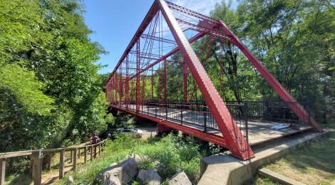 Battle Creek's Historic Bridge Park is a Unique and Fun Family Destination