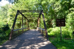 Bauer Road Bridge Battle Creek Historic Bridge Park