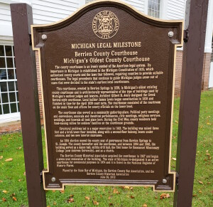 Berrien County Courthouse Michigan Legal Milestones