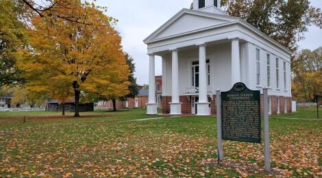 Michigan Roadside Attractions: Berrien County Courthouse (Michigan's Oldest County Courthouse)
