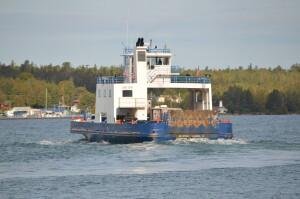Drummon Island Ferry Michigan