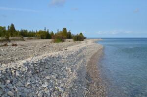 Drummond Island Lake Huron Shale Beach