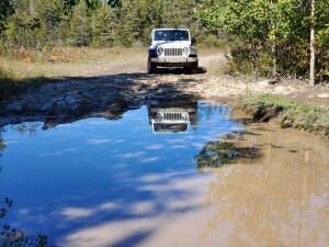Drummond Island Michigan ORV Trails Jeep