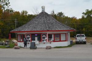 Drummond Island Michigan Teepee Ice Cream