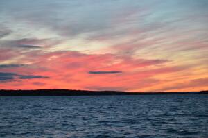 Drummond Island Sunset Michigan