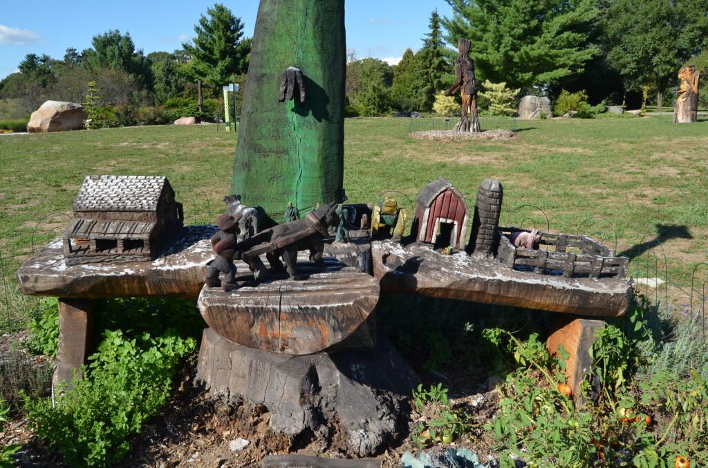 Fantasy Forest Leila Arboretum Michigan