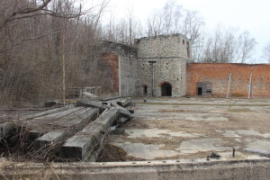 Frankfort Iron Works Ruins Michigan