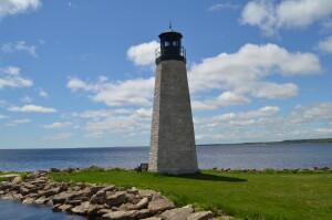 Gladstone Lighthouse Harbor Michigan