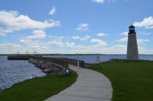 Gladstone Michigan Lighthouse Feature Photo
