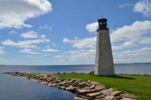 Gladstone Michigan Lighthouse Harbor