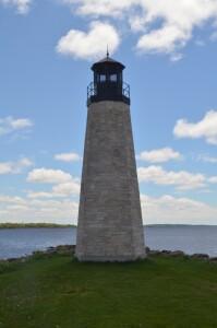 Gladstone Michigan Vertical Lighthouse