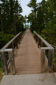 Hunter's Point Park Boardwalk Copper Harbor