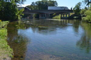 Kalamazoo River Battle Creek Historic Bridge Park