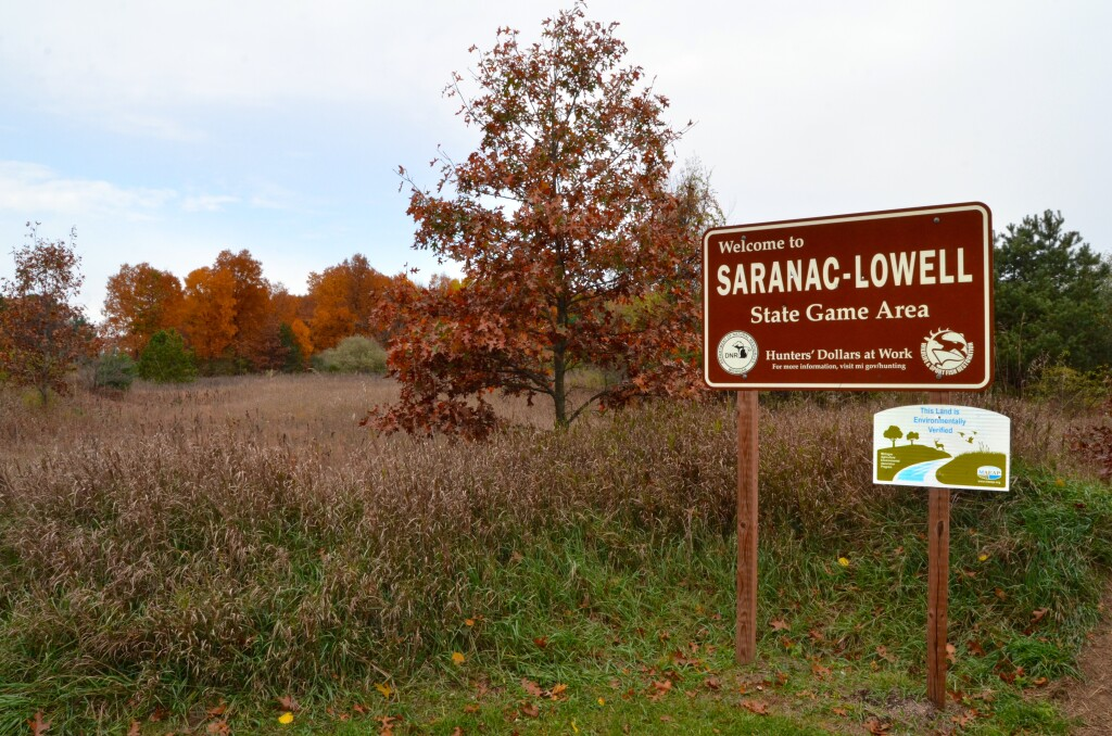 Kent County Fall Color Tour Saranac Lowell Game Area