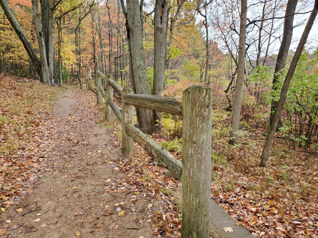 Kent County Fall Color Tour Trail at Pickerel Lake Park