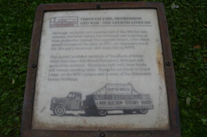Lincoln Brick Park History Sign