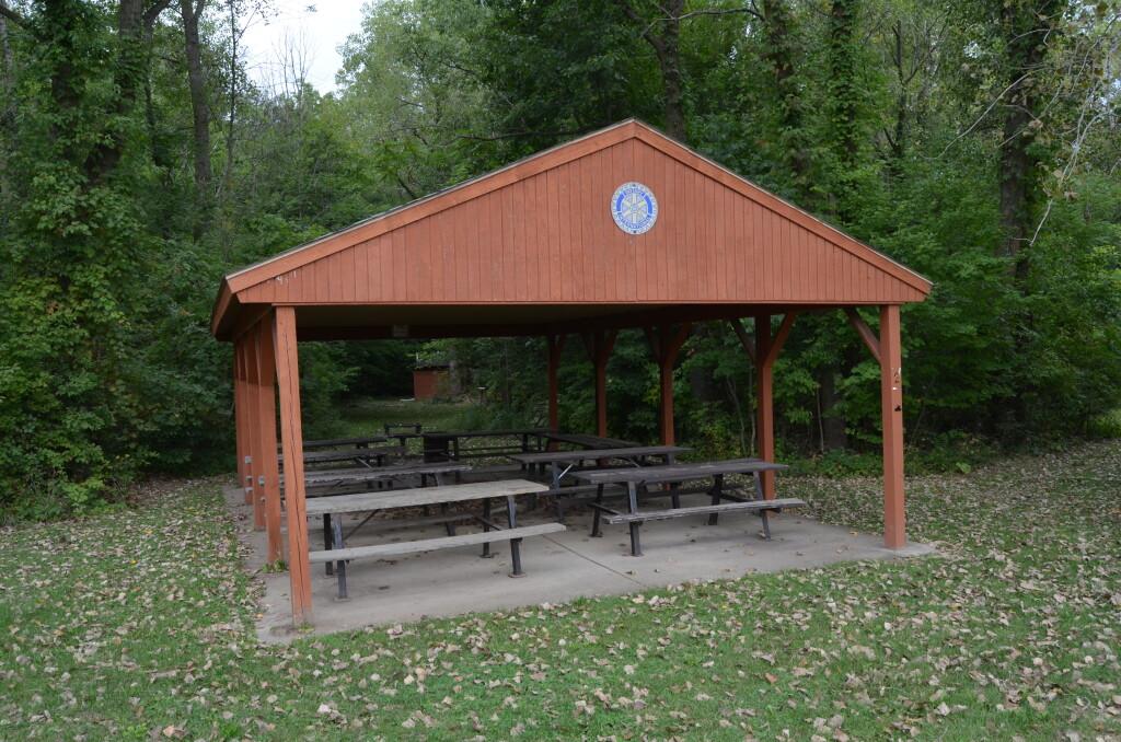 Lincoln Brick Park Picnic Pavilion