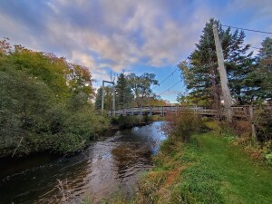 Little Mac Bridge Hersey River Reed City MI