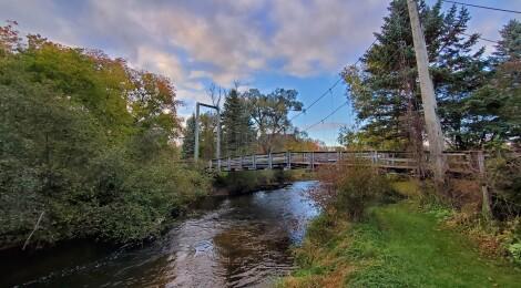 Take a Walk Across the Little Mac Bridge in Reed City