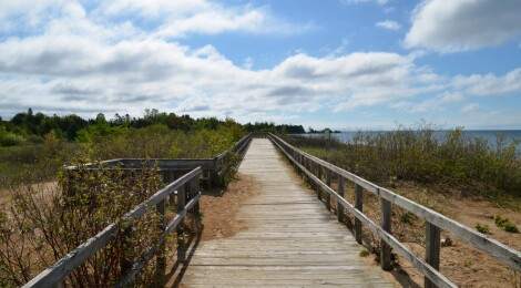 Michigan Trail Tuesday: Manistique Boardwalk