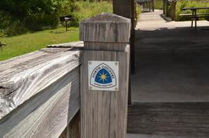 North Country Trail Battle Creek Historic Bridge Park