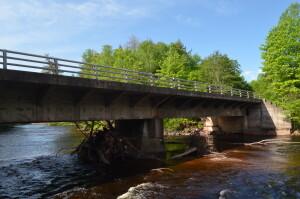 Presque Isle River Bridge South Boundary rd.
