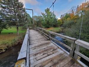 Reed City Michigan Little Mac Bridge