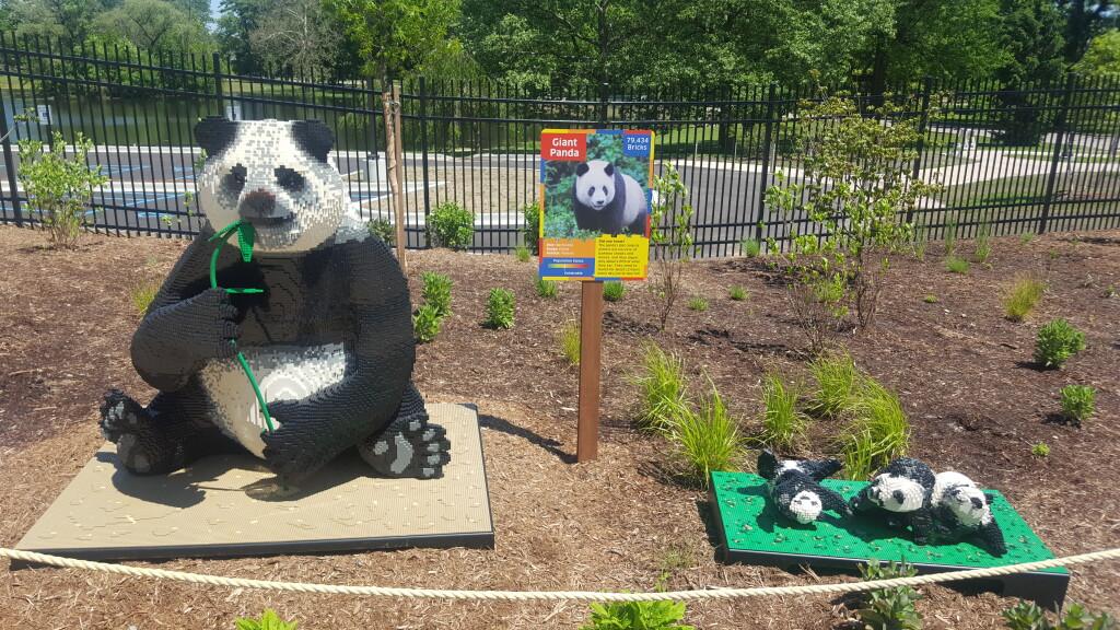 BrickLive Exhibit at John Ball Zoo, Grand Rapids, June