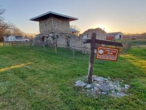 Dyer Kiln Ruins Park Bellevue Michigan