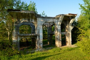 Ahmeek Stamp Mill Ruins Tamarack City Michigan