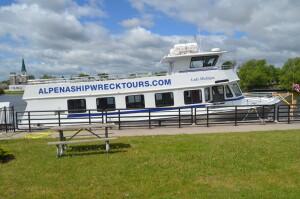 Alpena Shipwreck Tours Great Lakes Maritime Heritage Center