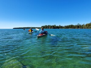 Drummond Island Kayak Lake Huron