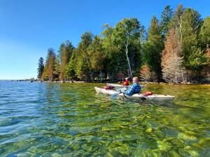 Drummond Island Kayak Lake Huron Scammon Cove