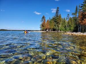 Drummond Island Kayak Scammon Cove Shipwrecks