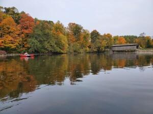 Flat River Kayak Fall Color Fallasburg