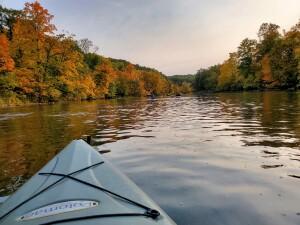Flat River Kayak Michigan Fall Color
