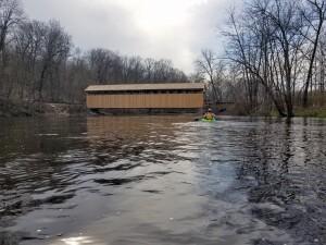 Flat River Kayak Trip Fallasburg Covered Bridge Michigan