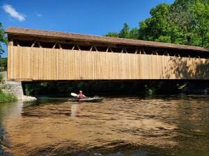 Flat River Kayak Whites Bridge Ionia County