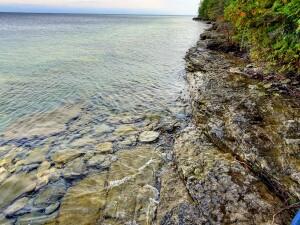 Fossil Ledges Drummond Island Michigan Shoreline