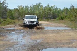 Fossil Ledges Drummond Island Michigan Wet Drive