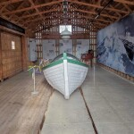Michigan Roadside Attractions: Francis Metallic Surfboat, Douglas