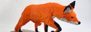 GR Public Museum Grand Rapids Lego Exhibit Fox