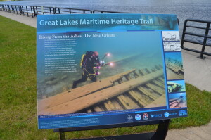 Great Lakes Maritime Heritage Trail Alpena New Orleans Shipwreck