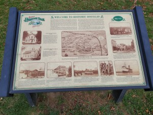 Historic Douglas Michigan Information Map