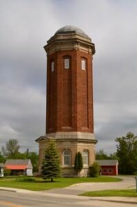 Manistique Water Tower Vertical Michigan