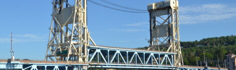 Michigan Landmarks: Portage Lake Lift Bridge