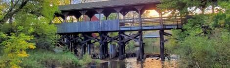 Reed City Covered Bridge, Osceola County