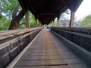 Reed City Covered Bridge Michigan 2