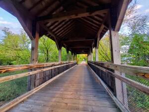 Reed City Covered Bridge Michigan