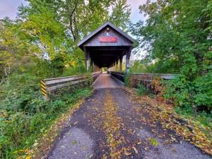Reed City Covered Bridge White Pine Trail